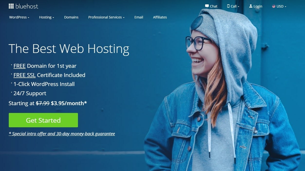 5 Reasons to choose Bluehost