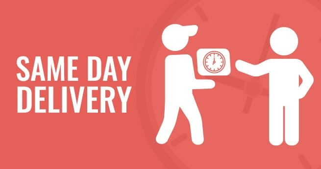 Top 10 things that can be Same Day Deliveries