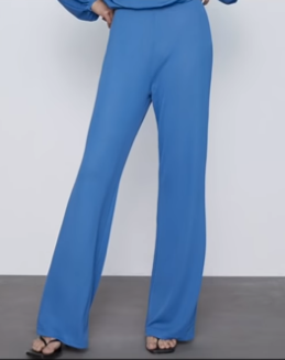 Flared Wide Leg Pants